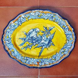 "Ceramic ""Robles"" Trays..."