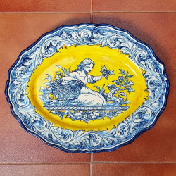 "Ceramic ""Robles"" Trays..."