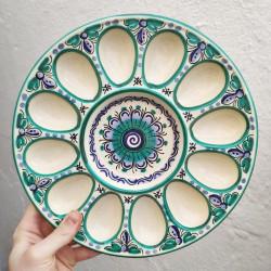 Ceramic Tray Eggs...