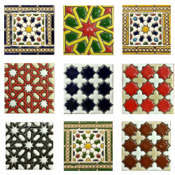 """Ceramic tiles 7,5cm (3"""") -"""