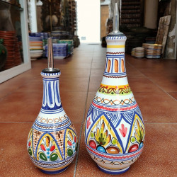 "Set of ceramic ""oil and..."