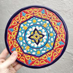 """Plate """"Arte"""" R-964-o"""