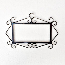 """Metal-Frame """"Small"""" letters"""