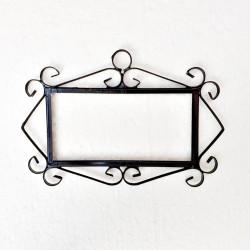 "Metal-Frame ""Medium"" letters"