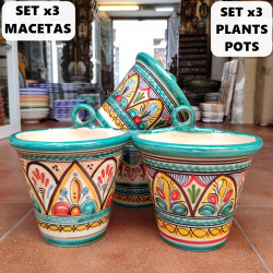 Set de 3 Macetas-Colgar...