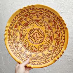 """Plate """"Tito"""" ref.33am-b"""