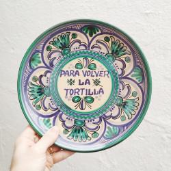 """Plate """"Tortilla"""" ref.127-25-av"""
