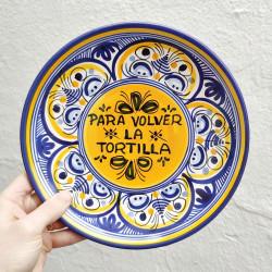 """Plate """"Tortilla"""" ref.127-25-am"""