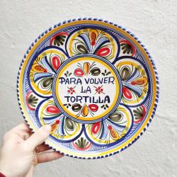 "Plate ""Tortilla"" ref.127-25-c"