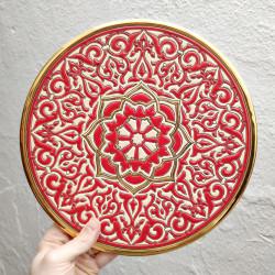 "Plate ""Arte"" R-117-4"