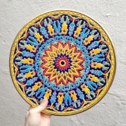 "Plate ""Arte"" R-119-1"