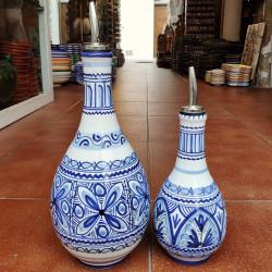 "Set of ceramic ""oil and..."