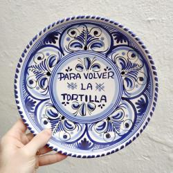 """Plato """"Tortilla"""" ref.127-25-z"""