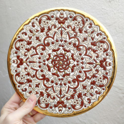 "Plate ""Arte"" R-117-16"