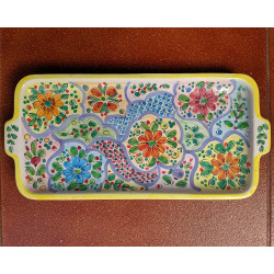 "Ceramic tray ""Cruz"" ref.18A-2"