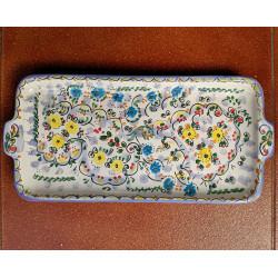 "Ceramic tray ""Cruz"" ref.18A-4"