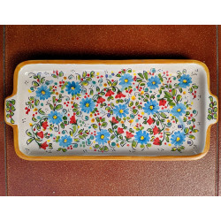 "Ceramic tray ""Cruz"" ref.18A-5"