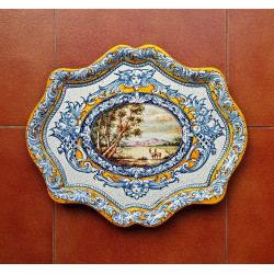 "Ceramic tray ""Robles"" ref.41-3"