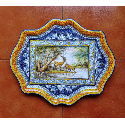 "Ceramic tray ""Robles"" ref.41-4"
