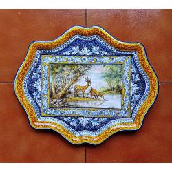 """Ceramic tray """"Robles"""" ref.41-4"""