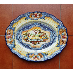 "Ceramic trays ""Robles""..."