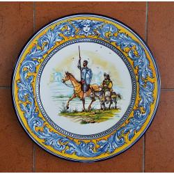 """Plato """"Quijote"""" ref.43-Q4"""