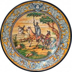 """Plato """"Quijote"""" ref.62-Q2"""
