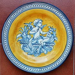 "Ceramic plate ""Robles""..."