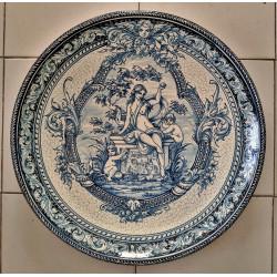 "Ceramic plate ""Robles""..."