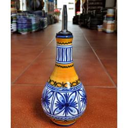 Ceramic oil can - 23cm.