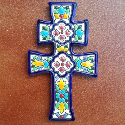 "Ceramic cross ""Arte"" ref.984-1"