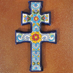 "Ceramic cross ""Arte"" ref.984-2"