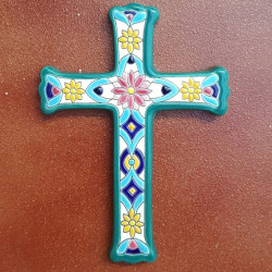 "Ceramic cross ""Arte"" ref.993-1"
