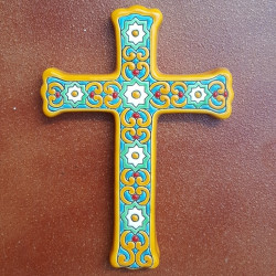 "Ceramic cross ""Arte"" ref.993-2"