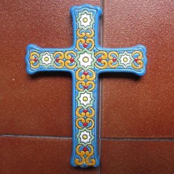"Ceramic cross ""Arte"" ref.993-3"
