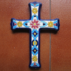 "Ceramic cross ""Arte"" ref.993-5"