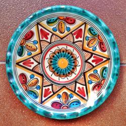 18cm plate.- Ref.154-18-v