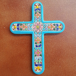 "Ceramic cross ""Arte"" ref.993-8"