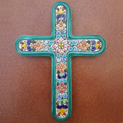 "Ceramic cross ""Arte"" ref.993-9"
