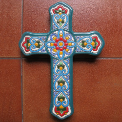"Ceramic cross ""Arte"" ref.994-2"