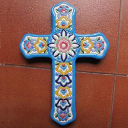 """Ceramic cross """"Arte"""" ref.994-3"""