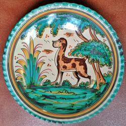 """Plate """"Bezo"""" ref.154-34-mont4"""