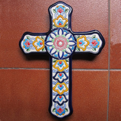 "Ceramic cross ""Arte"" ref.994-4"