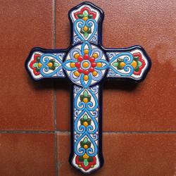 """Ceramic cross """"Arte"""" ref.994-5"""