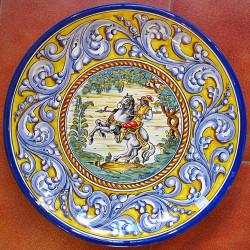 "Plate ""Knight"" ref.43-1"