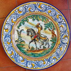 "Plate ""Knight"" ref.43-2"