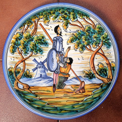 """Plate """"Quixote"""" ref.155-30-Q1"""