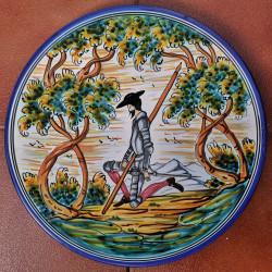 """Plate """"Quixote"""" ref.155-30-Q3"""