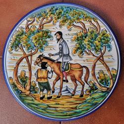 """Plate """"Quixote"""" ref.155-30-Q4"""