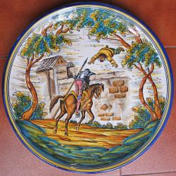 """Plate """"Quixote"""" ref.40-Q2"""